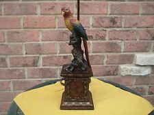 """TABLE LAMP PARROT TROPICAL 28"""" Tall"""
