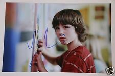 """Logan Lerman 20x30cm """" The Butterfly Effect """" Foto + Autogramm / Autograph"""