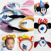 Minnie Ears Bow Headband Winnie Marie Stitch hair band Birthday Party Favors