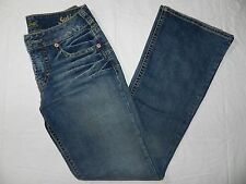 WOMENS JEANS = SILVER JEANS western glove works = SIZE 28 x 32 = BA14