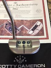 NEW 2016 Scotty Cameron M1 34/360 Rory Mcilroy Ryder Cup CIRCLE T TOUR CT Putter