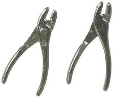 Pair Of Pliers, Dolls House Miniature, Tools, Garage 1.12th Scale
