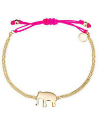 New Gold Color Plated Wishing Elephant Good Luck Dot Bracelet New