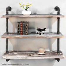 DIY  Shelves Industrial Shelf with Pipe Tubing/book shelf