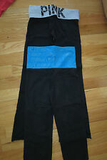 S PINK LOT 2 Victoria's Secret FOLD OVER YOGA SPORT PANT WORK OUT