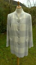 Marks & Spencer grey checked  wool mix  jacket size 18 BNWT