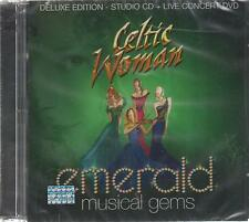 CD - Celtic Woman NEW Emerald Musical Gems DELUXE CD  - FAST SHIPPING !