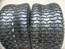 TWO 13/6.50-6, 13/6.50X6 Golf Cart, Lawnmower Turf Tread 4 ply Tires