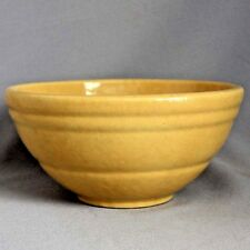 "Antique Vintage 8"" BAUER YELLOW WARE MIXING BOWL Stoneware Excellent!"