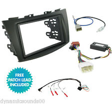 SUZUKI Swift 2011  Car Stereo Double Din Radio Replacement Fitting Kit CTKSZ02