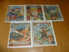 2000 AD Comic - 5 PROG JOB LOT - Progs 405 too 409 Inclusive - UK Paper Comic