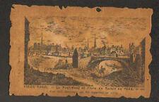 VIEUX PARIS / PONT-NEUF & ISLE DU PALAIS en 1665 & VIEIL ABATTOIR détruit en1719