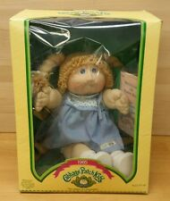 "Vintage 1985 Cabbage Patch Kids Doll by Coleco 3900 Girl ""Nanette Cherie"""