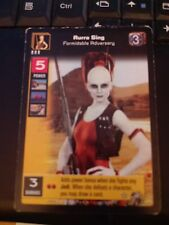 Young Jedi TCG Boonta Eve Podrace Aurra Sing, Formidable Adversary Non-MInt