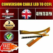 LED to LCD Screen 40pin to 30pin CCFL Converter Cable HP G60 CQ60 G61 CQ61