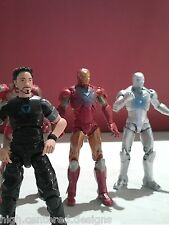 *NEW* MARVEL Iron Man RARE Tony Stark Hall of Armor 5 Figure Set UN-OPENED 3.75""