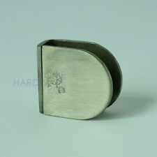 shower room glass to wall partition clamp round stainless steel bracket 8-10mm
