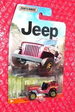 2015 Matchbox  '43 Jeep Willys  DJG63-0910