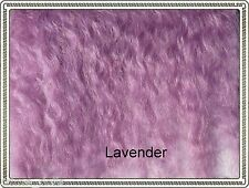 "Mohair Weft  LAVENDER,  5"" - 6"" X 36"""
