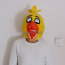 New FNAF Silicone Mask Five Nights at Freddy's Chica Full Head Face Mask Cosplay