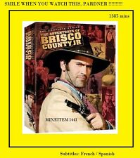 Adventures OF BRISCO COUNTY JR COMPLETE SERIE(DVD,2006, 8-Disc Set) NEW. Free SH