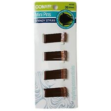 Conair Styling Essentials Secure Hold Mini Bobby Pins, Brown 36 ea