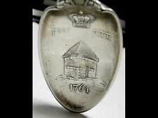 1891 Fort Pitt Pittsburgh PA Sterling Souvenir Spoon