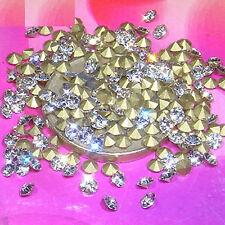 200 Zirconias Cubicasde Cristal 3mm T135 Bisutería Abalorios Beads Cubic ZC