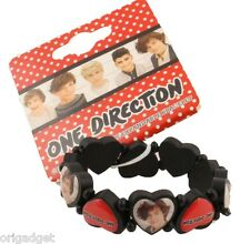 BRACCIALE ELASTICO CUORI 1D ONE DIRECTION OFFICIAL HEART BRACELET 1DBRAC06