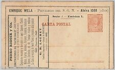 ARGENTINA -  Advertising POSTAL STATIONERY CARD :  Theatre, Wine, Gastronomy