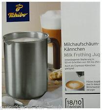 TCM Tchibo Milchaufschäumkännchen Milchaufschäumer Kännchen Kanne Edelstahl