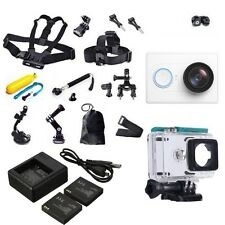 Genuine XiaoMi XiaoYi Sports Camera DVR+Accessories Waterproof Case+Charger Pack