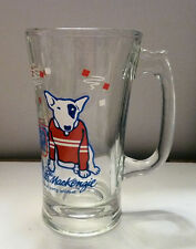 Budweiser BEER GLASS 1987 SPUDS McKENZIE Party Animal Curved Design Glass
