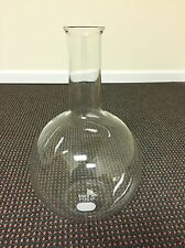 Pyrex 6000mL Florence Flask Flat Bottom Heavy Glass Neck Made In USA