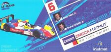 2009 Team Oreca Matmut Courage LMP1 Le Mans Series postcard