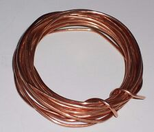 SCRAP BARE BRIGHT COPPER WIRE - 12 AWG - 5 Feet Long - CRAFTS/JEWELRY/MELT