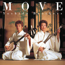 Move - Yoshida Brothers (NEW CD) Tsugaru Shamisen