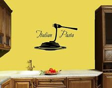 Wall Stickers Vinyl Decal Italian Pasta Restaurant Italy For Kitchen (z1724)