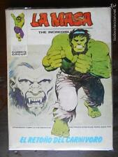 LA MASA THE INCREDIBLE HULK - VERTICE - Nº 30 - LEER DESCRIPCION (K2)