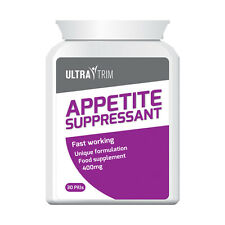 ULTRA TRIM APPETITE SUPPRESSANT PILLS – STOP HUNGER CRAVINGS LOSE WEIGHT FAST