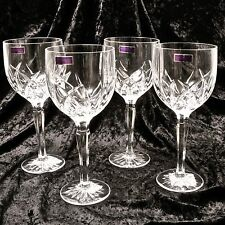 Waterford Marquis Brookside Red White Wine SET OF FOUR Stems Made in Germany NEW