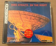 Dire Straits - On The Night Ultra Rare 3 Disc VCD Set Video Cd Inc Promo 1993