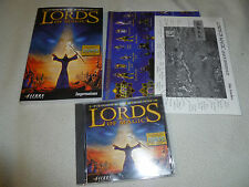 COMPUTER PC GAME LORDS OF MAGIC SPECIAL EDITION W CASE MANUAL SIERRA IMPRESSIONS