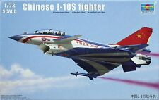 Trumpeter 01644 J-10S Chinese Fighter Twin seater 1/72 maqueta