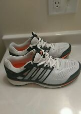 Adidas Womens Supernova Glide Boost Running Shoes White/Black SZ US 8(MSRP $160