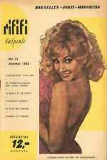 RIFIFI 32 63 sexy french Magazine curiosa Pinup JAYNE MANSFIELD frou-frou cancan