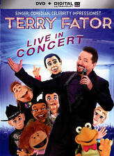 NEW - Terry Fator Live In Concert [DVD + Digital] Ultraviolet