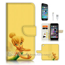 iPhone 7 (4.7') Flip Wallet Case Cover P3235 TinkerBell