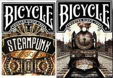 Bicycle Steampunk Goggles Playing Cards 2 Deck Set - Limited Edition - SEALED