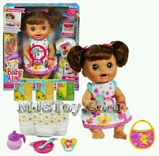 Baby Alive Real Surprises brunette doll. Brand new!! English Spanish 2013